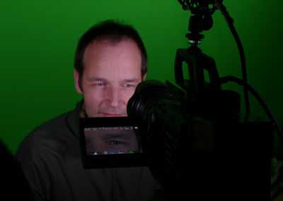 Drehtag Green Screen