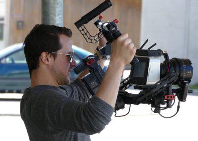 Drehtag Kameramann