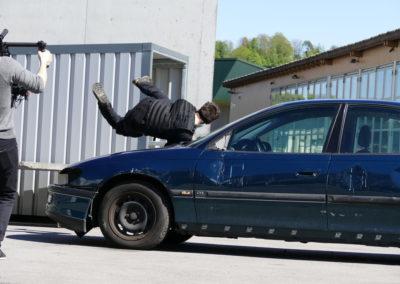 Drehtag Action Szene